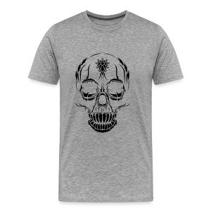 Men's Halloween Skull T-Shirt - Men's Premium T-Shirt