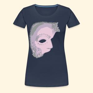 Frauen Übergrößenshirt - Maskenball - Frauen Premium T-Shirt