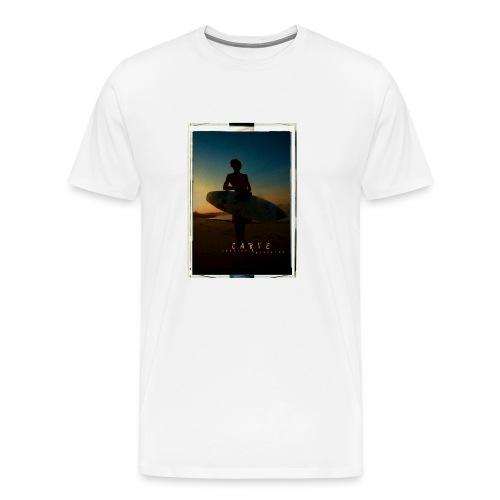 Sunset Surfer - Men's Premium T-Shirt