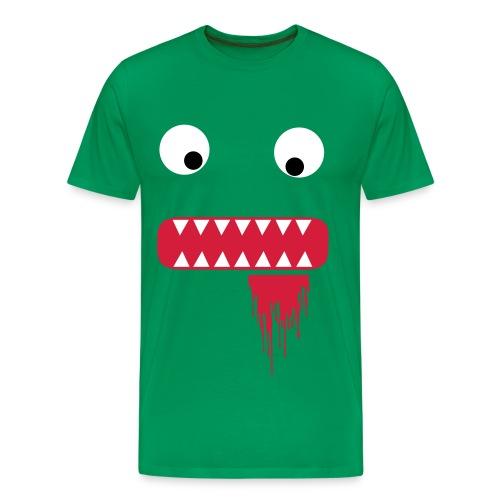 Cute Zombie Bite ZOMBIFICATION CLOTHING - Men's Premium T-Shirt