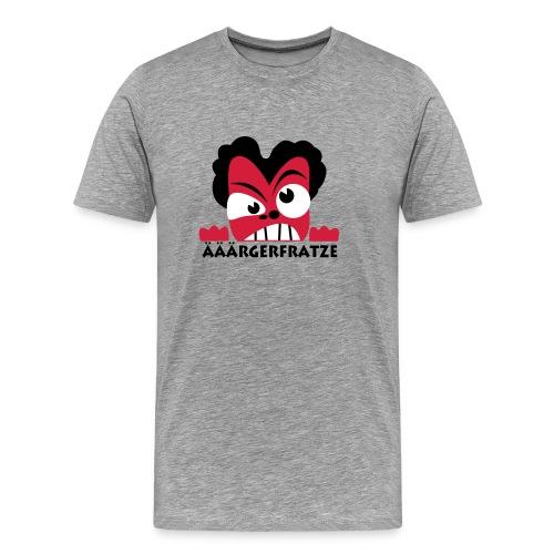 Ärgerfratze - Männer Premium T-Shirt