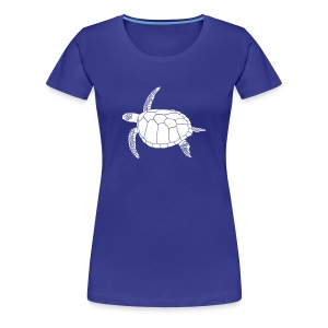tier t-shirt meeres schildkröte sea turtle schildi meeresschildkröte tauchen taucher scuba diving - Frauen Premium T-Shirt