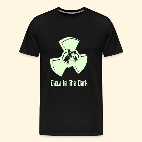 Männer ÜbergrößenshirtShirt - glow in the dark - Männer Premium T-Shirt