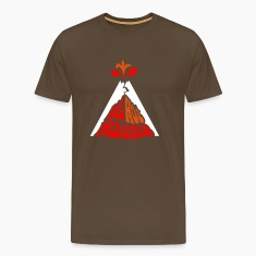 Volcanology: Red Hot Magma w/ eruption T-Shirts