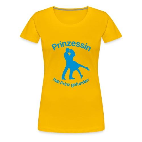 Prinzessin hat Prinz gefunden - Hellblau - Frauen Premium T-Shirt