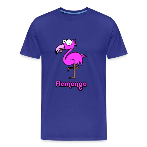 Flamongo - Männer Premium T-Shirt