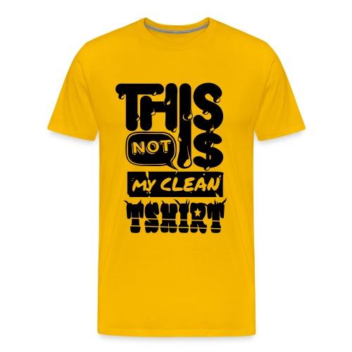 [Dirty shirt] jaune - Men's Premium T-Shirt