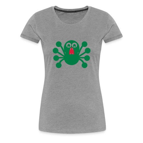 Spider Tshirt - Frauen Premium T-Shirt