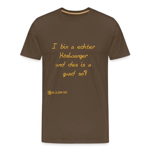 Höslwanger - Männer Premium T-Shirt