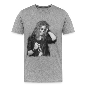 T-shirt Premium Homme - annso,annsom,band,blog,createur,designer,fashion,groupe,guitariste,kooples,massot,mode,mort,music,olivier,paris,pop,rock,shopping,skull,tete,vetement
