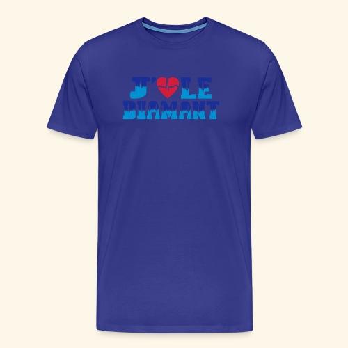 j'aime le Diamant - T-shirt Premium Homme