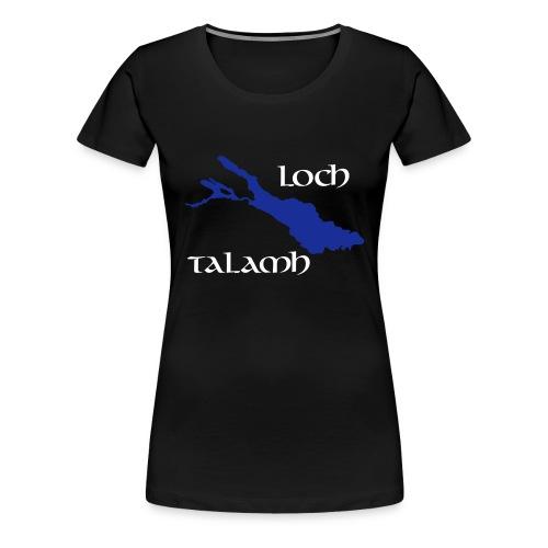 Loch Talamh invers - Frauen Premium T-Shirt