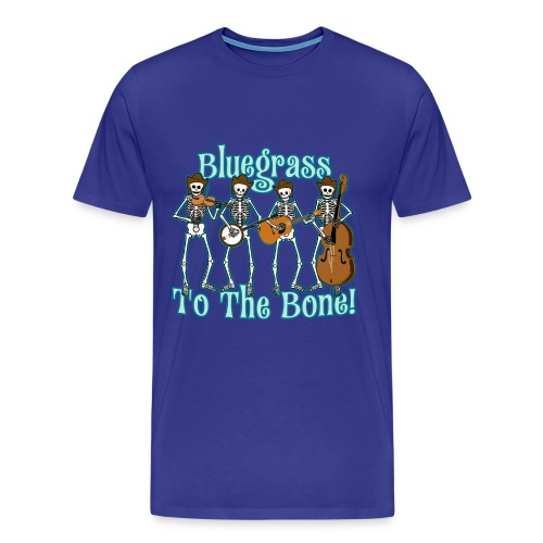 Bluegrass Skeleton T-Shirt - Men's Premium T-Shirt