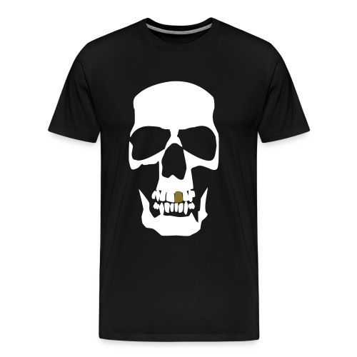 Anti skull - Men's Premium T-Shirt