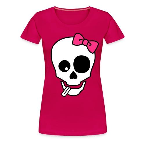 Mongo Skull Girlie ULTIMATE! - Frauen Premium T-Shirt