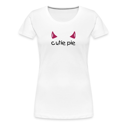Devilish Cutie pie - woman - Women's Premium T-Shirt