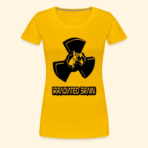 Frauen Girlie - irradiated brain - mouse - Frauen Premium T-Shirt