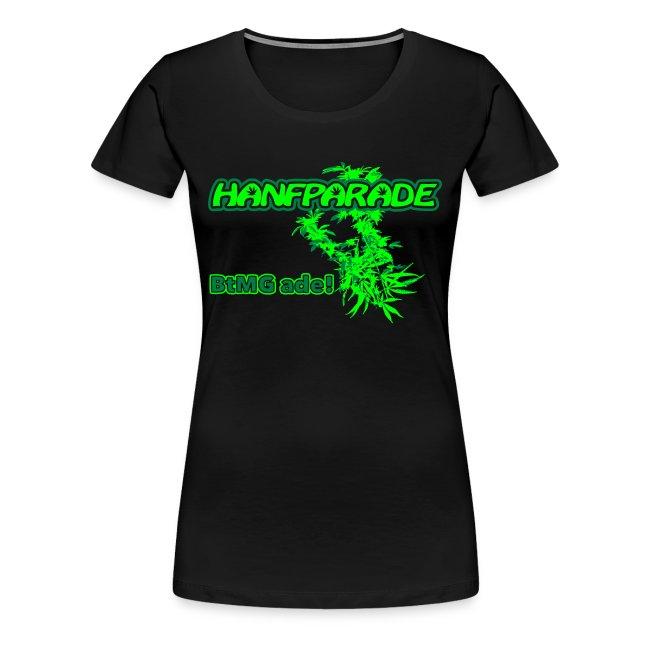 Hanfparade 2011 Girlyshirt - Offizielles Motiv