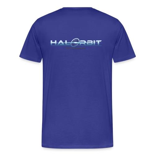 HaloOrbit Teebeuteln Männershirt - Männer Premium T-Shirt