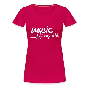 MimL Lady's T-shirt - Vrouwen Premium T-shirt