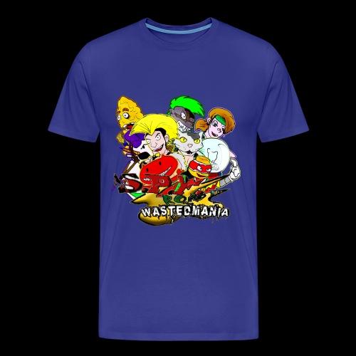 Wastedmania Heroes - Maglietta Premium da uomo