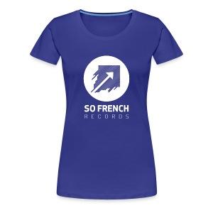 Blue Test Women - T-shirt Premium Femme