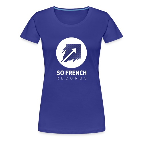 Blue Test Women - T-shirt Premium Femme