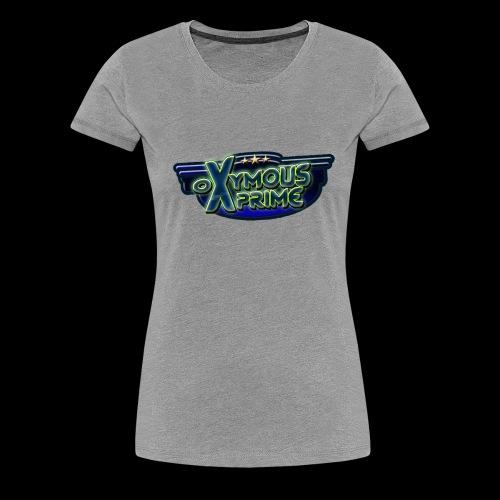 Oxymous Prime Logo Girl - Maglietta Premium da donna