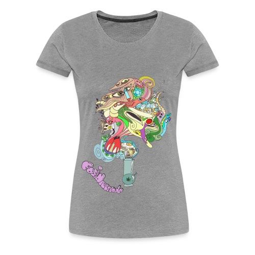 Bongo Bong F - Frauen Premium T-Shirt