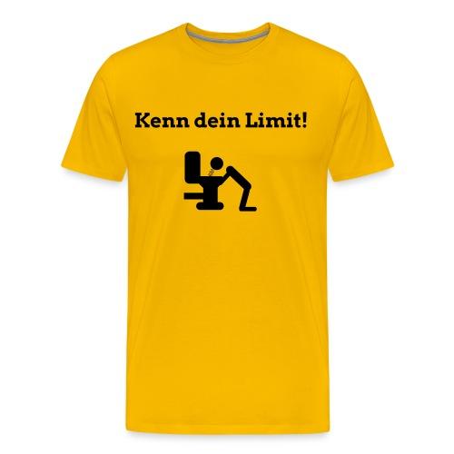 Kenn dein Limit - Männer Premium T-Shirt