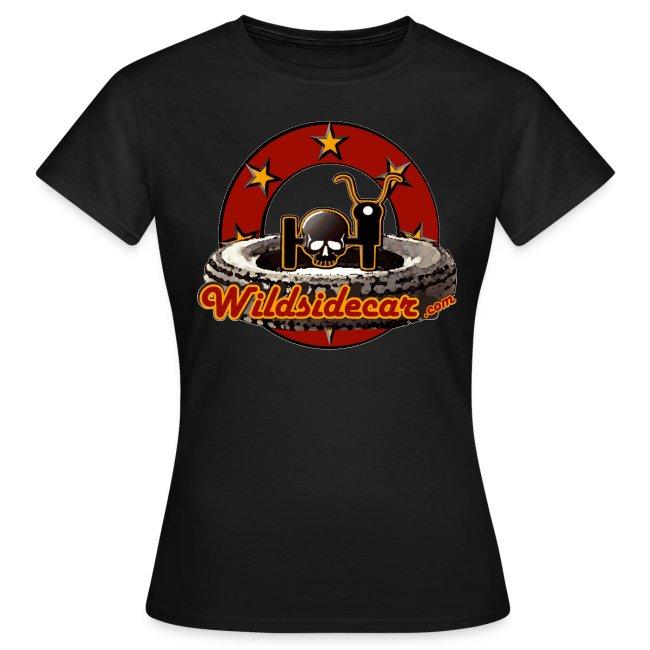 Tee shirt femme logo sixties