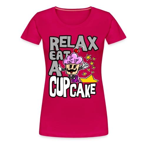 [Relax Cupcake] girl - Women's Premium T-Shirt