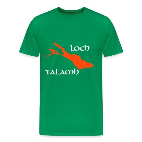 White, Orange and Green - Männer Premium T-Shirt