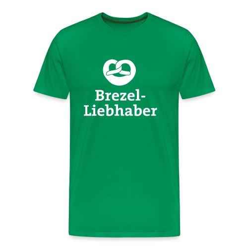 Brezel-Liebhaber - Männer Premium T-Shirt