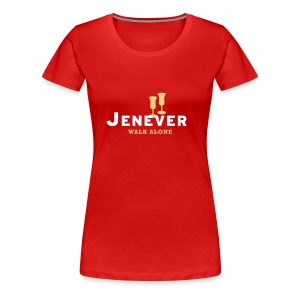 Jenever walk alone - Vrouwen Premium T-shirt