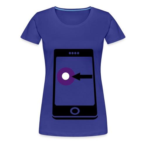 Iphone - Drukshirt. - Vrouwen Premium T-shirt