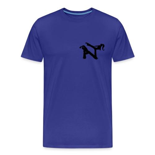 Jogo de Capoeira - Men's Premium T-Shirt