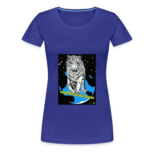 vrouwen T-shirt met tijger - Vrouwen Premium T-shirt