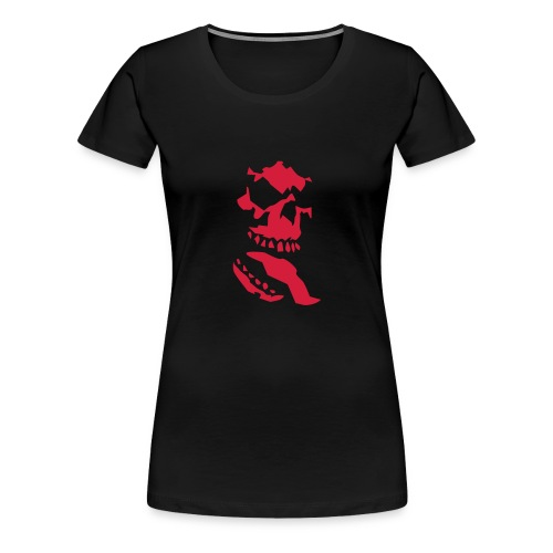 Skull of Darkness - Frauen Premium T-Shirt