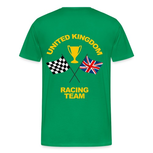 United Kingdom racing team - Men's Premium T-Shirt