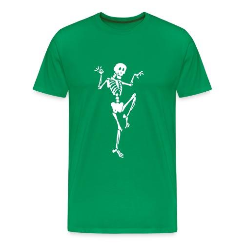 Skelett - Männer Premium T-Shirt
