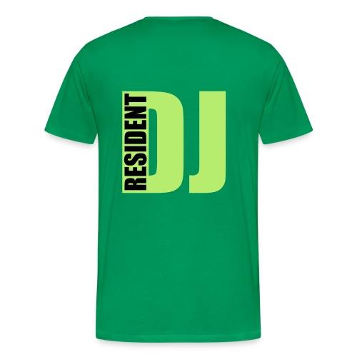 RESIDENT DJ  - T-shirt Premium Homme
