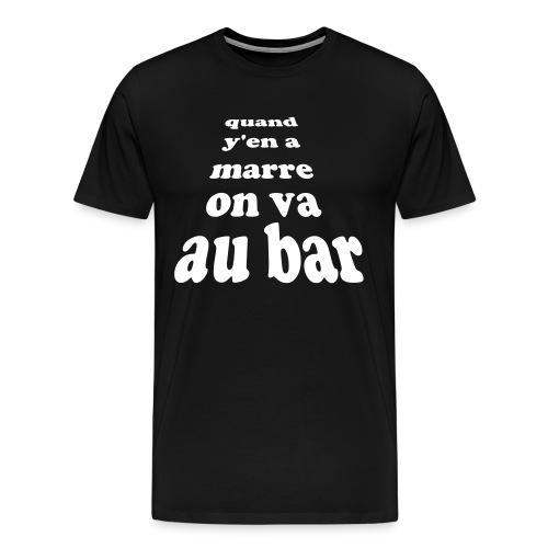 tee shirt homme Pochtron  - T-shirt Premium Homme