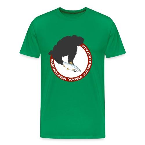 Vastuullinen t-paita - Miesten premium t-paita