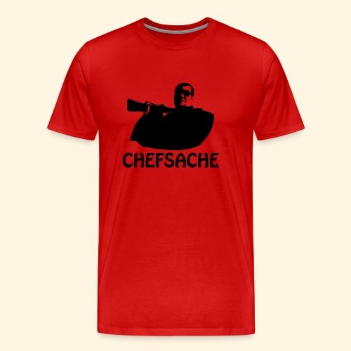 Männer Übergrößenshirt - Das ist Chefsache - Männer Premium T-Shirt