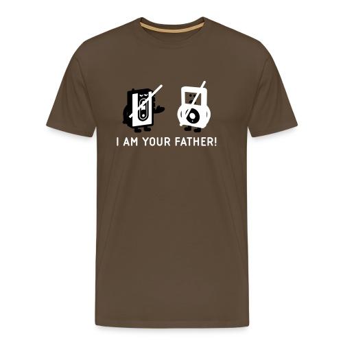 Tape vs MP3 - Männer Premium T-Shirt