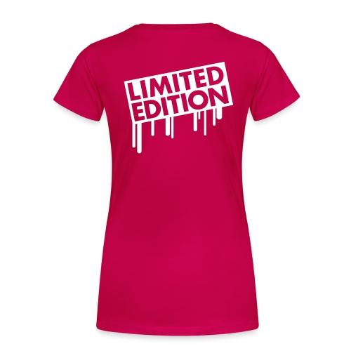 LIMITED EDITIONS - Camiseta premium mujer