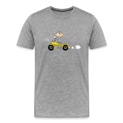 Bikerboy gelb - Männer Premium T-Shirt