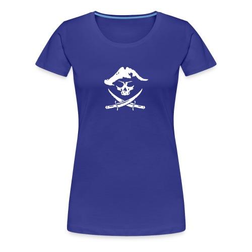 pirat skull T-Shirts - Frauen Premium T-Shirt