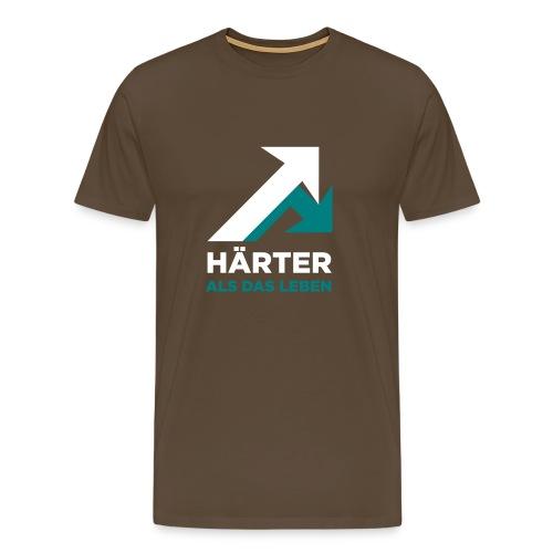 Härter als das Leben - Männer Premium T-Shirt